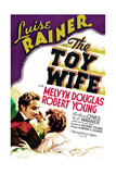 THE TOY WIFE  US poster art  from left: Melvyn Douglas  Luise Rainer  1938