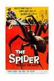 EARTH VS THE SPIDER  (aka THE SPIDER)  poster art  1958
