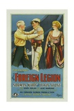 THE FOREIGN LEGION  left to right: Lewis Stone  Norman Kerry  Mary Nolan  1928