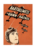 THE DAWN PATROL  Richard Barthelmess on poster art  1930