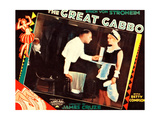 THE GREAT GABBO  left: Erich von Stroheim on lobbycard  1929