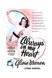 ALWAYS IN MY HEART  top: Gloria Warren  bottom from left:  Kay Francis  Walter Huston  1942