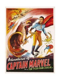 THE ADVENTURES OF CAPTAIN MARVEL  right: Tom Tyler  1940
