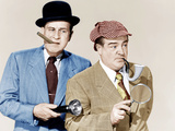 ABBOTT AND COSTELLO MEET THE INVISIBLE MAN  from left: Bud Abbott  Lou Costello