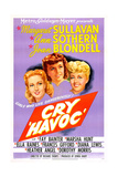 CRY 'HAVOC'  US poster  from left: Ann Sothern   Margaret Sullavan  Joan Blondell  1943