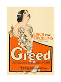 GREED  Zasu Pitts on window card  1924
