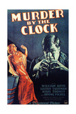 MURDER BY THE CLOCK  from left on US poster art: Lilyan Tashman  Irving Pichel  1931