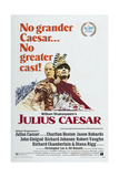 JULIUS CAESAR  US poster  from left: John Gielgud  Charlton Heston  1970