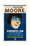 SYNTHETIC SIN  Colleen Moore on poster art  1929