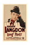 LONG PANTS  Harry Langdon on window card  1927