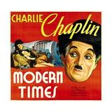 Modern Times  Charlie Chaplin  Paulette Goddard  1936