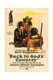 BACK TO GOD'S COUNTRY  Nell Shipman on US poster art  1919