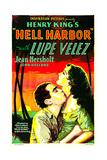 HELL HARBOR  US poster art  from left: John Holland  Lupe Velez  1930