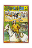 THE LIFE OF BUFFALO BILL  poster art  1912