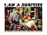 I AM A FUGITIVE FROM A CHAIN GANG  Edward McNamara  Paul Muni  1932