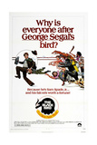 THE BLACKBIRD  US poster  far left: George Segal  1975