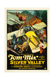 SILVER VALLEY  Tom Mix  Dorothy Dawn  1927  crash
