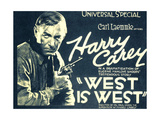WEST IS WEST  Harry Carey  1920
