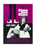 BAREFOOT IN THE PARK  (aka PIEDS NUS DANS LE PARC)  French poster  Jane Fonda  1967