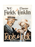 FOOLS FOR LUCK  WC Fields  Chester Conklin  1928