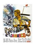 CHUBASCO  US poster  Richard Egan  1967