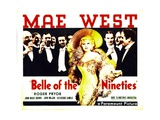 BELLE OF THE NINETIES  Mae West  Roger Pryor  1934