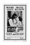 LOVE AND DEATH  US poster  from left: Woody Allen  Diane Keaton  1975