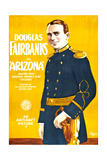 ARIZONA  Douglas Fairbanks on poster art  1918