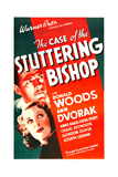 THE CASE OF THE STUTTERING BISHOP  US poster art  from top: Donald Woods  Ann Dvorak  1937