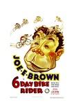 SIX DAY BIKE RIDER  Joe E Brown  1934