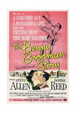 THE BENNY GOODMAN STORY  US poster  bottom center left: Donna Reed  Steve Allen  1956