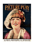 Bebe Daniels  on the cover of Picture-Play Magazine  February 1921