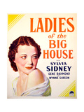 LADIES OF THE BIG HOUSE  Sylvia Sidney on US poster art  1931