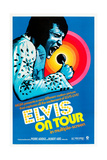 Elvis on Tour  Elvis Presley on US poster art  1972