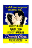 THE ENCHANTED COTTAGE  US poster  Dorothy McGuire  Robert Young  1945