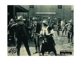 THE WILDCAT  right: Texas Guinan on lobbycard  1920