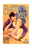 LADY WITH A PAST  US poster art  from top: Ben Lyon  Constance Bennett  1932