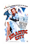 ATLANTIC CITY (aka ATLANTIC CITY HONEYMOON)  US poster  Constance Moore  1944