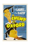 A Chump at Oxford  Stan Laurel  Oliver Hardy  1940