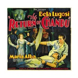 THE RETURN OF CHANDU  left center: Maria Alba  far right: Bela Lugosi  1934