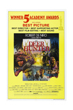 THE DEER HUNTER  US poster  1978  (c) Universal/courtesy Everett Collection