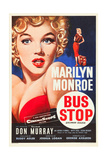 Bus Stop  Marilyn Monroe on US poster art  1956