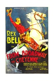 FROM BROADWAY TO CHEYENNE  Rex Bell  1932