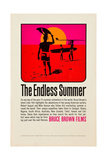 THE ENDLESS SUMMER  poster art  1966