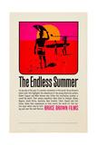 THE ENDLESS SUMMER  poster art  1966