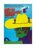 SMOKEY AND THE BANDIT  (aka MISTRZ KIEROWNICY UCIEKA)  Polish poster  1977