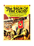 THE SIGN OF THE CROSS  midget window card  1932