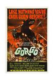 GORGO  classic dinosaur poster art  1961