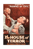THE HOUSE OF TERROR  right: Pat O'Brien in 'Episode 9-Pawns of Evil'  1928
