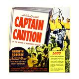 CAPTAIN CAUTION  window card  1940